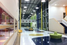 Projects Schools International Ajman Academy atrium Penoyre and Prasad