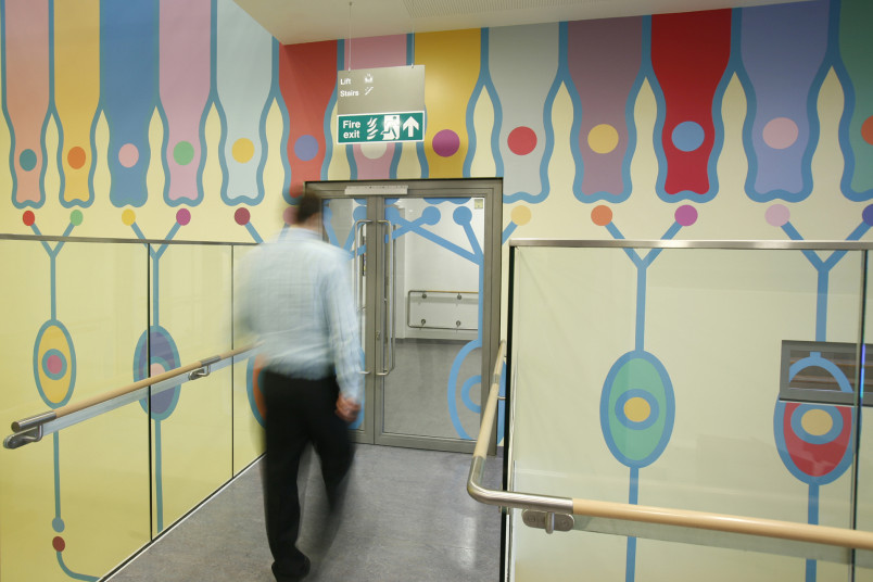 Projects Health Children's Eye Centre Moorfields Eye Hospital artwork Penoyre and Prasad