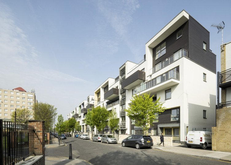 Projects Residential Hammond House street view Penoyre and Prasad