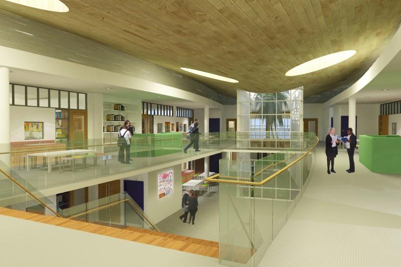 King's College | Penoyre & Prasad Architects, London Oasis Masterplan