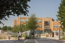 Projects Schools Primary Ashmount School Crouch Hill Community Park main entrance Penoyre and Prasad