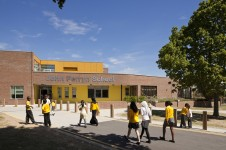 Projects Schools Primary John Perryn School Main Entrance Penoyre and Prasad