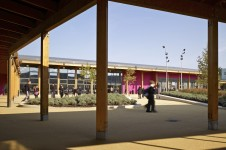 Projects Schools Secondary Merchants' Academy Courtyard Garden View Penoyre and Prasad