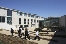 Projects Schools Secondary Olney Campus External Courtyard Penoyre and Prasad
