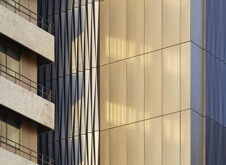 Sustainability Guys Tower Facade Detail Penoyre and Prasad architects