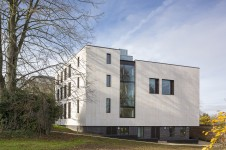 Projects Higher Education Ruskin College Exterior Landscape Penoyre and Prasad