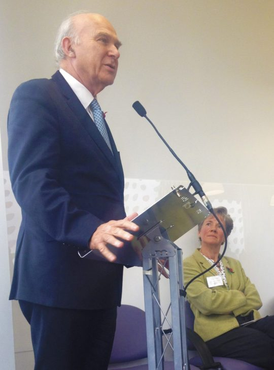 Vince Cable opens Whitton Health and Social Care Centre
