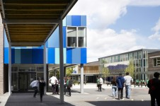 Project Schools Secondary SEN Woodside Inclusive Learning Campus Courtyard entrance Penoyre and Prasad