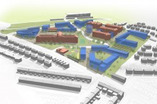 Project sheet Masterplanning Brighton General Hospital Masterplan site Penoyre and Prasad