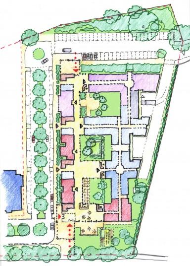 Dulwich Community Hospital Masterplan Penoyre amp Prasad
