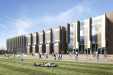 Projects Higher Education University of Kent Templeman Library Main Entrance Penoyre and Prasad