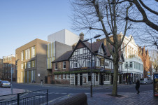 Projects Higher Education University of Portsmouth New Theatre Royal exterior view Penoyre and Prasad