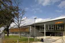 Projects Schools Ashburton Learning Village main entrance Penoyre and Prasad