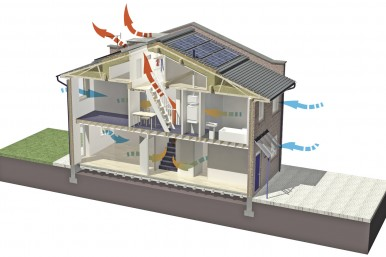 Sustainability Case Study Retrofit for Living Ventilation Diagram Penoyre and Prasad