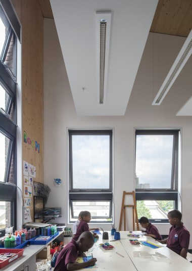 Ark Brunel Primary School art classroom Penoyre & Prasad Architects
