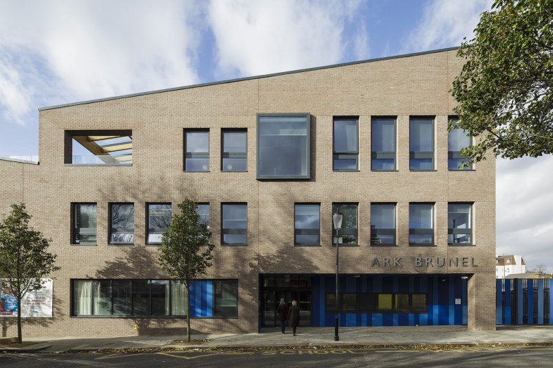 Projects Schools Ark Brunel Primary Academy Main Entrance Penoyre and Prasad