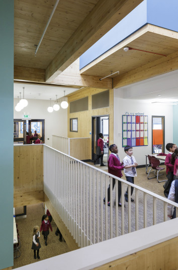 Projects Schools Ark Brunel Primary Academy first floor Active Learning Penoyre and Prasad
