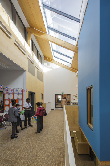Projects Schools Ark Brunel Primary Academy upper floor Active Learning Penoyre and Prasad