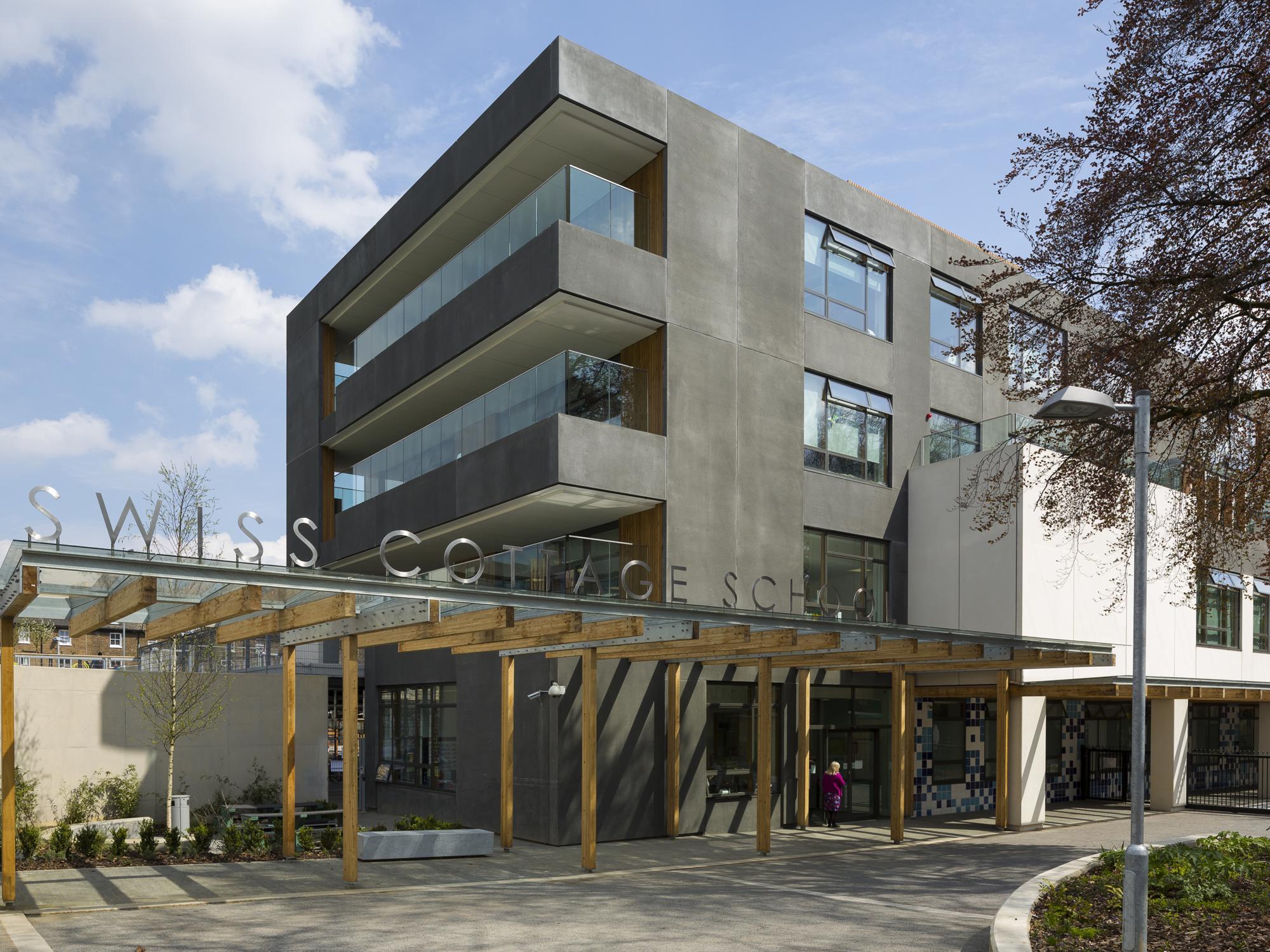 Swiss Cottage Specialist SEN School | Penoyre U0026 Prasad Architects, London