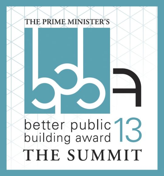 Sunand Prasad at The Prime Minister's Better Public Building Awards