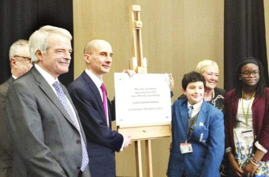 UCL Academy Officially Opened by Lord Andrew Adonis