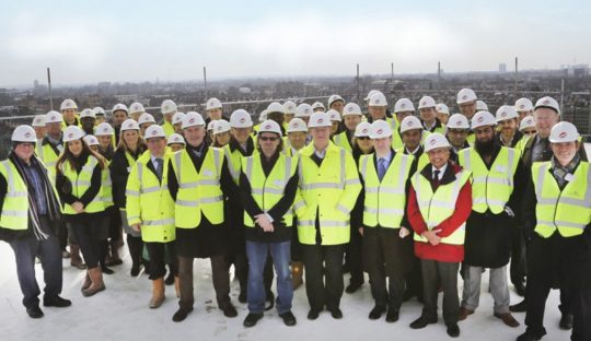 White City Tops Out