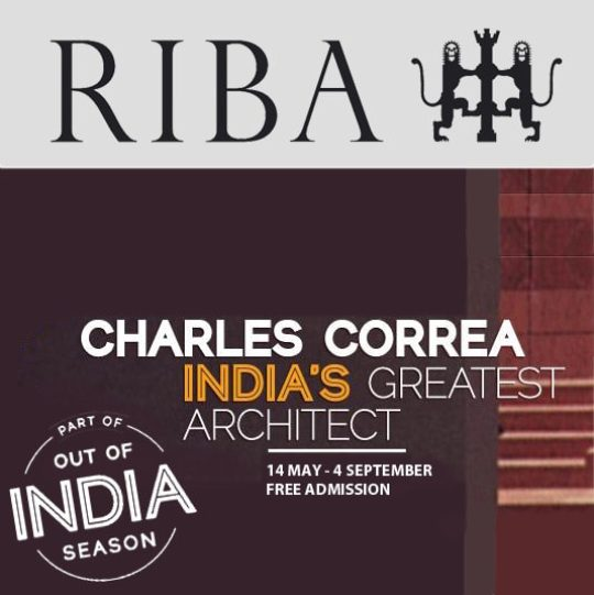 Sunand Prasad chairs Charles Correa events at the RIBA