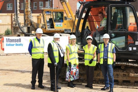 New QEII – ground breaking in Welwyn Garden City