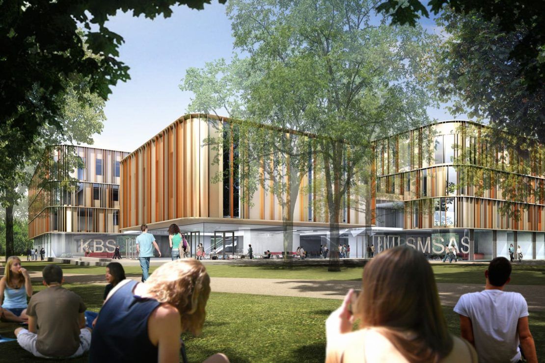 New academic building at the University of Kent