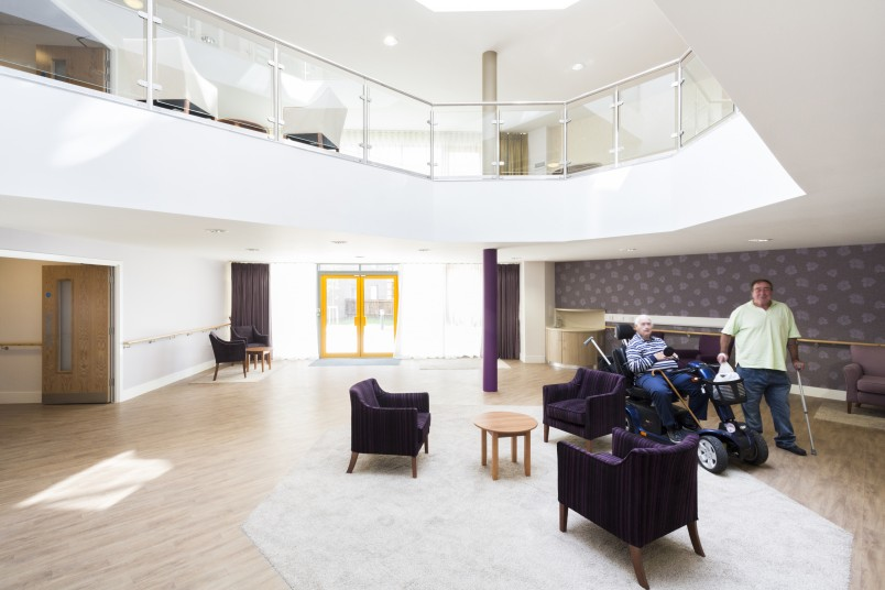 Dreywood Gardens Elderly Care lounge Penoyre & Prasad, London Architects
