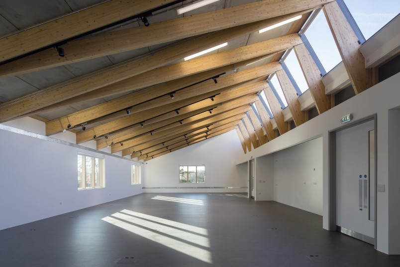 Upper floor studio Penoyre & Prasad