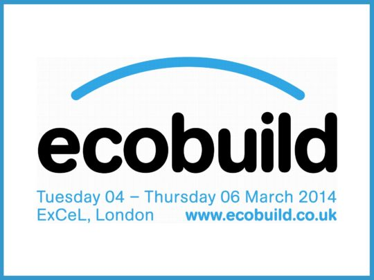 Sunand Prasad at Ecobuild 2014