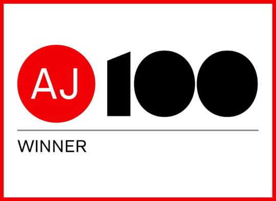 AJ100 'Sustainable Practice of the Year' winner 2014
