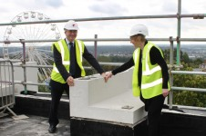Templeman Topping Out