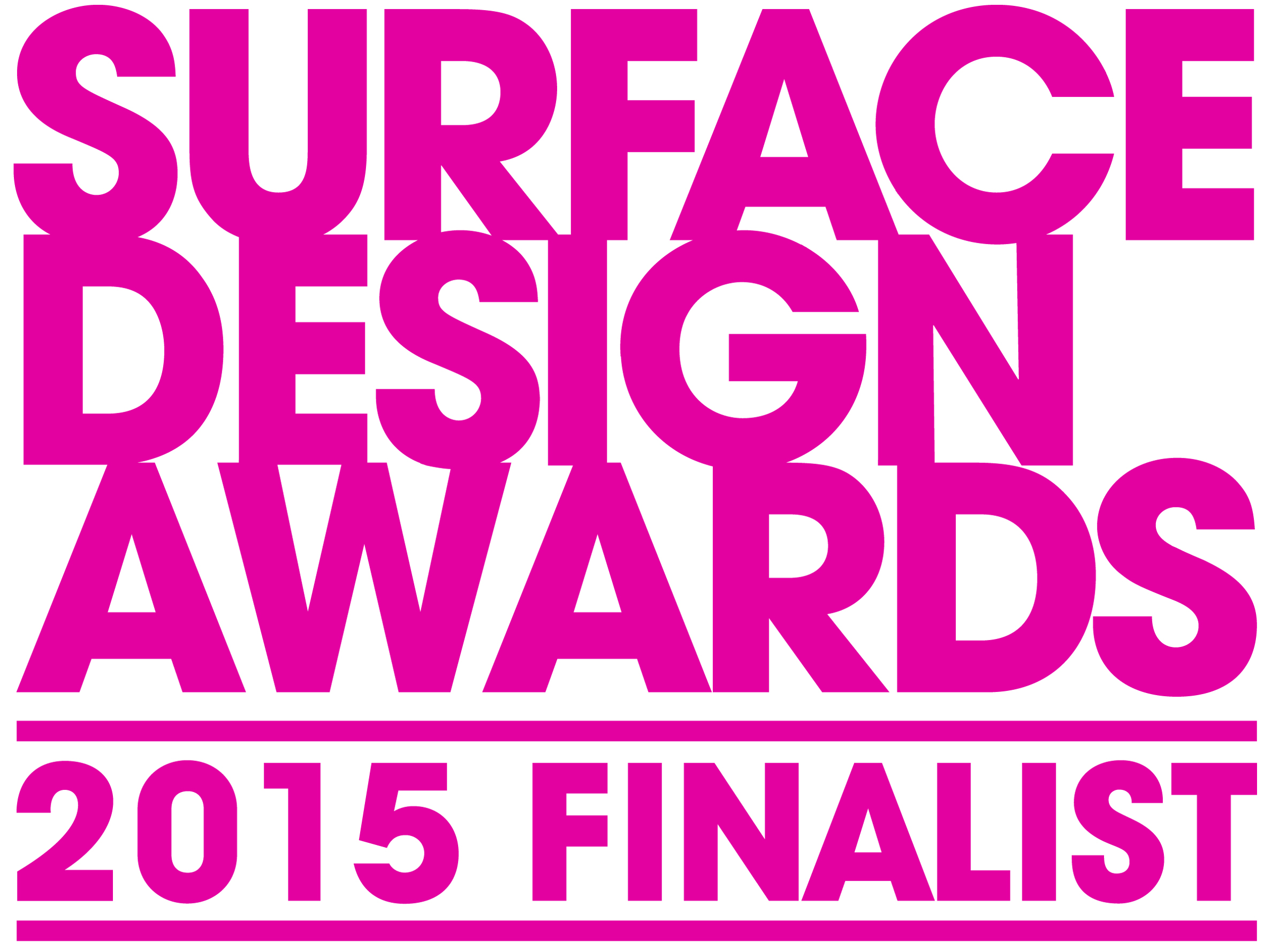 Surface design award finalist for International decor surfaces