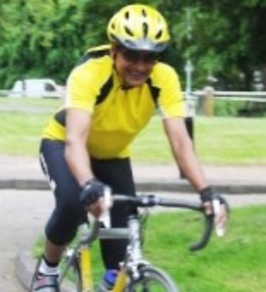 Sunand Prasad is Cycling to Cannes