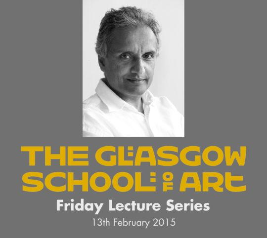 Friday Lecture Series at the Glasgow School of Art