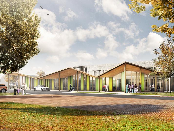 Projects Elderly Care South Tyneside Entrance Penoyre Prasad