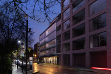 Projects SEN Schools Anna Freud Centre View from Rodney Street-Night Penoyre Prasad