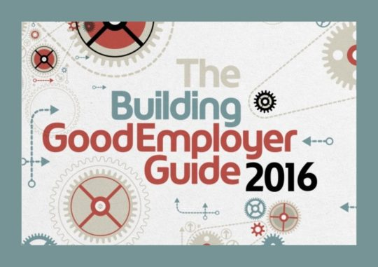 Penoyre & Prasad in Building Good Employer Guide 2016