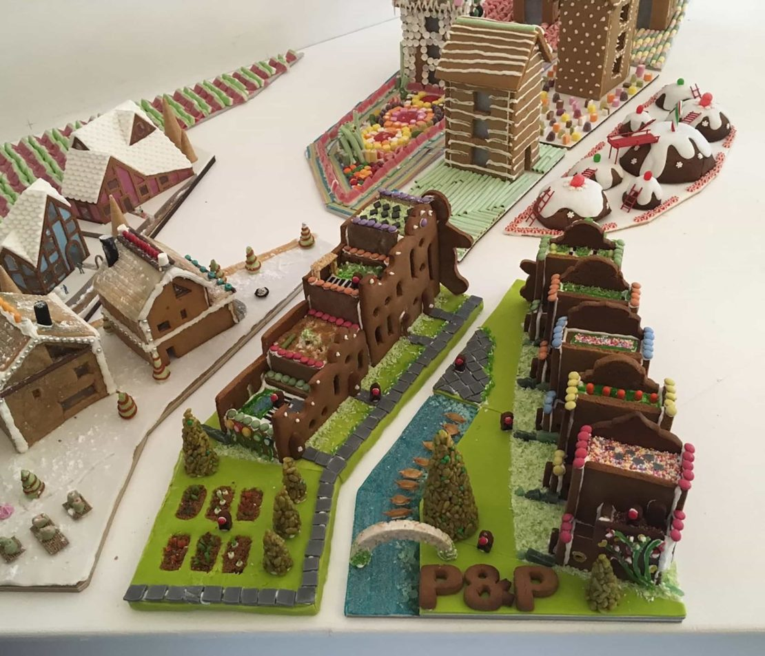 Gingerbread City at the Museum of Architecture
