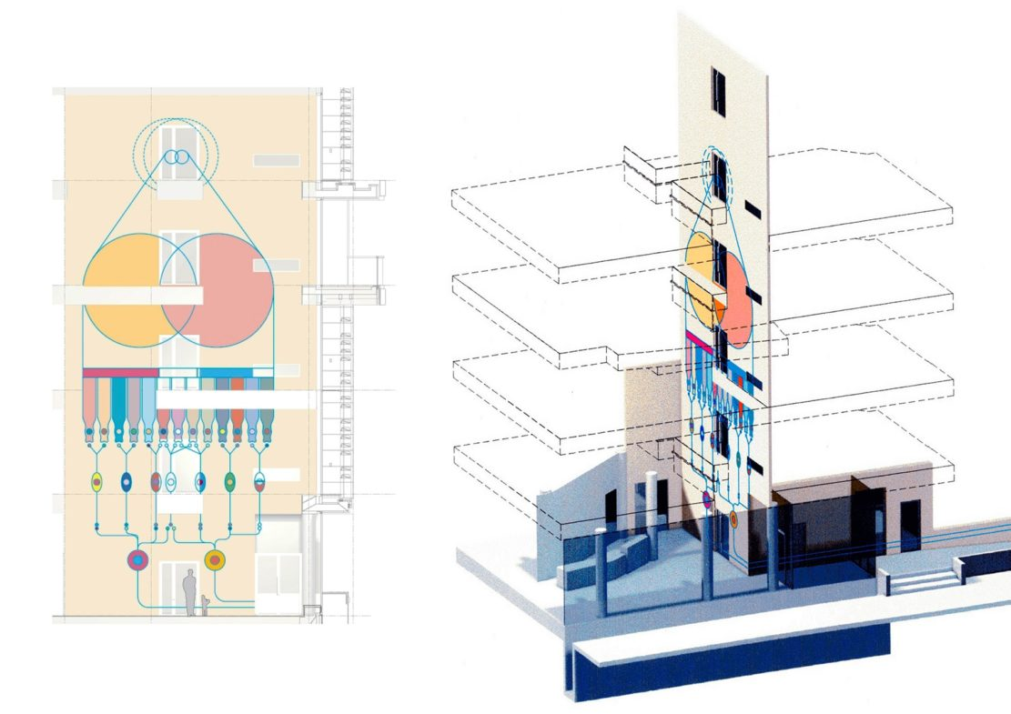 Projects Health Richard Desmond Children's Eye Centre drawings Penoyre and Prasad