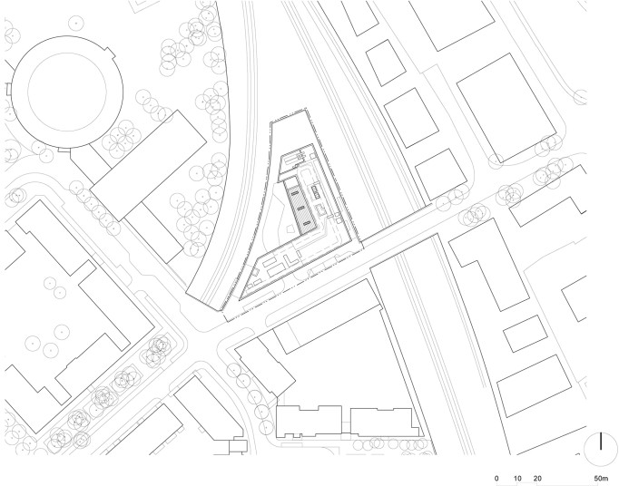 Projects Health Athletes Village Polyclinic Site Plan Penoyre and Prasad