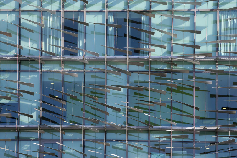 Projects Health Children's Eye Centre Moorfields Eye Hospital facade detail Penoyre and Prasad