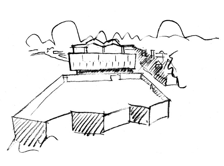 Projects Higher Education Ruskin College Sketch Penoyre and Prasad