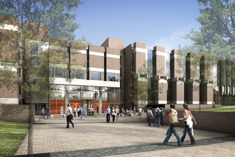 Projects Higher Education University of Kent Templeman Library Entrance Penoyre and Prasad
