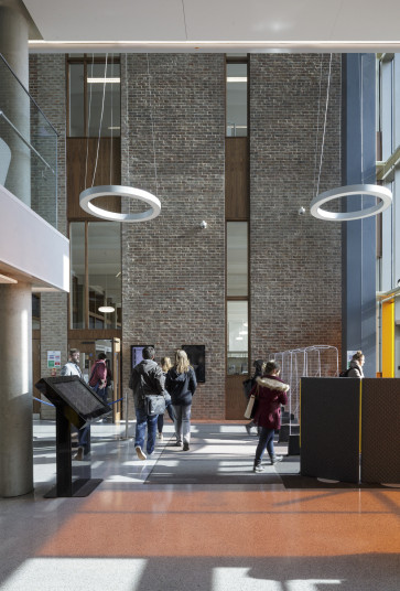 Projects Higher Education University of Kent Templeman Library Entrance foyer Penoyre and Prasad