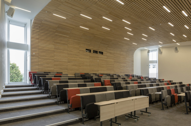 Projects Higher Education University of Portsmouth Eldon Building Lecture theatre Penoyre and Prasad