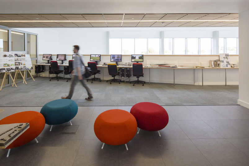 Projects Higher Education University of Portsmouth Eldon Building furniture Penoyre and Prasad
