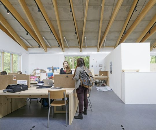 Double RIBA Award win for Wimbledon College of Arts